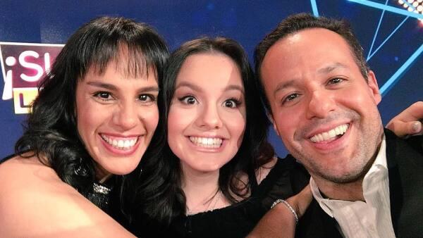 Marysol, Sara y José Joel
