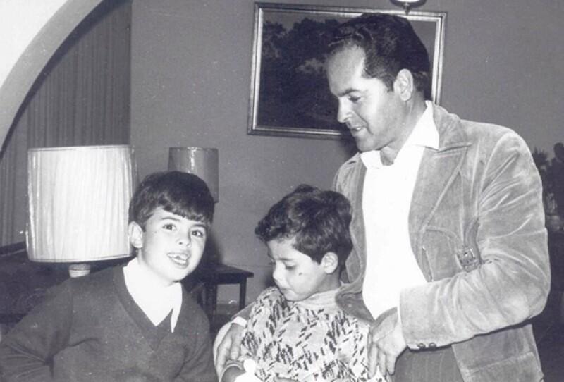 Con esta imagen el presidente de México recordó a su padre en su día.