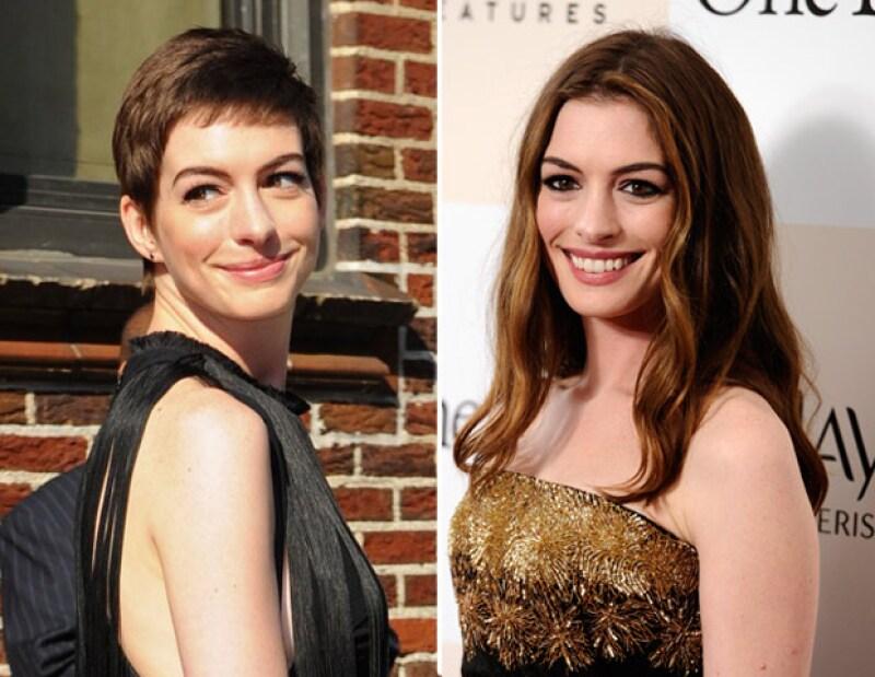 La actriz estadounidense confesó que lloró como nunca luego de haberse cortado su larga cabellera.