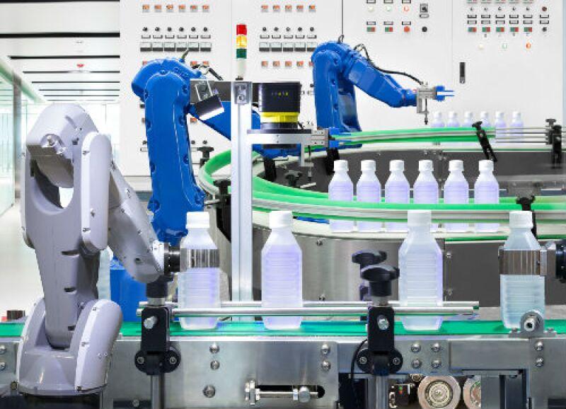 fabrica de alimentos automatizada