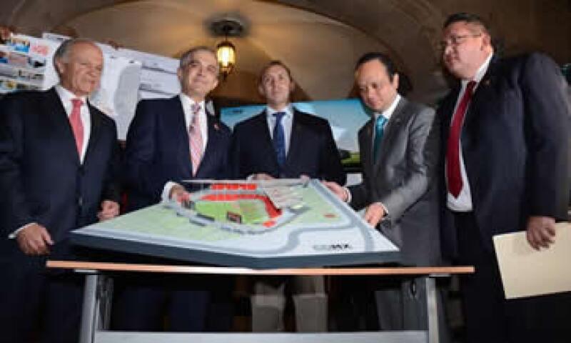 Las obras del estadio comenzarán en marzo de 2015. (Foto: Especial )