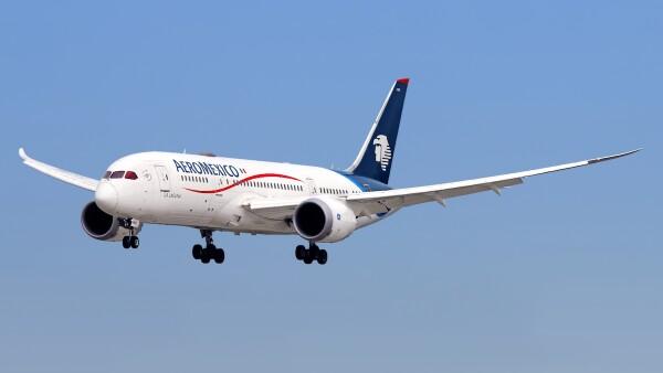Aeromexico aircraft