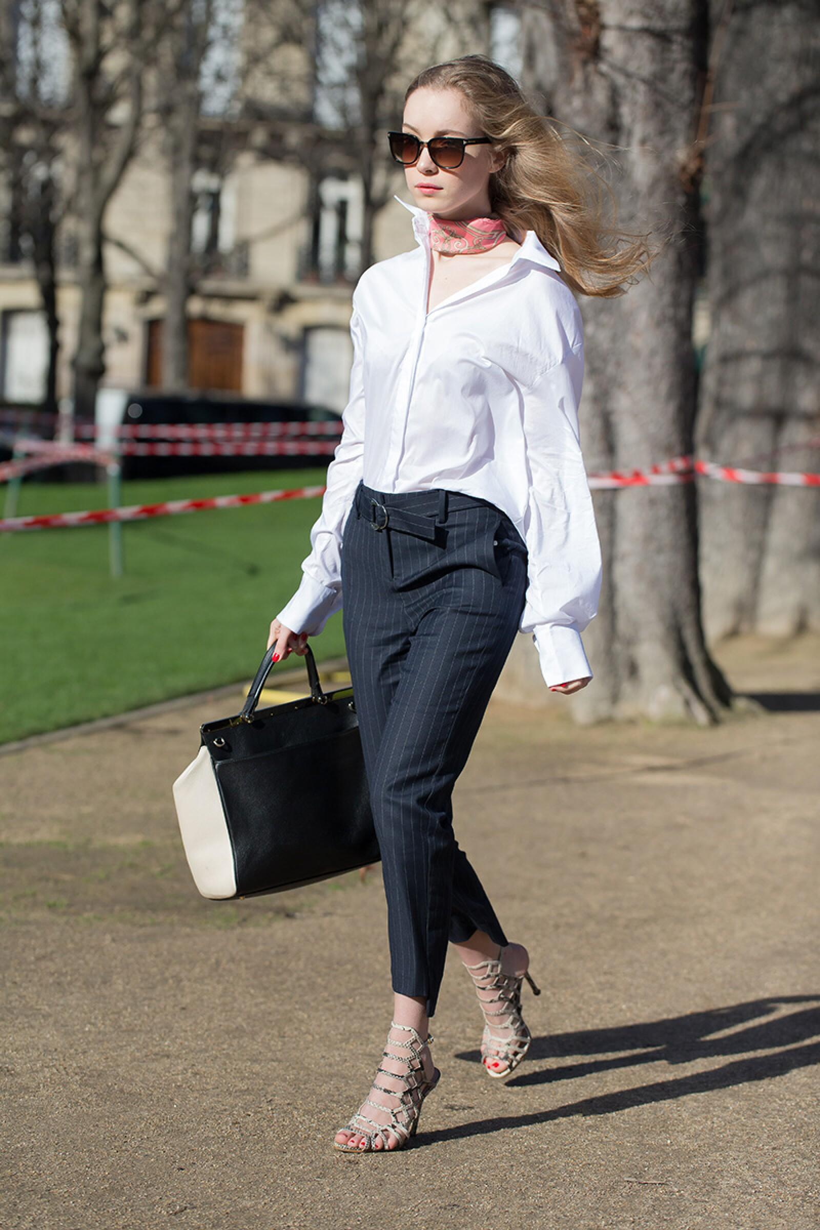 Street Style, Day 3, Autum Winter 2017, Paris Fashion Week, France - 02 Mar 2017