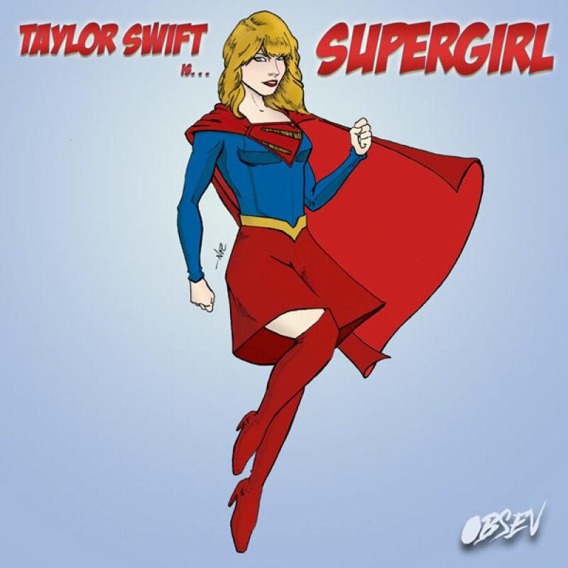 Wonder woman, Superman y Batman son algunos de los personajes en los que Tay y sus amigas se convierten a manera de caricatura.