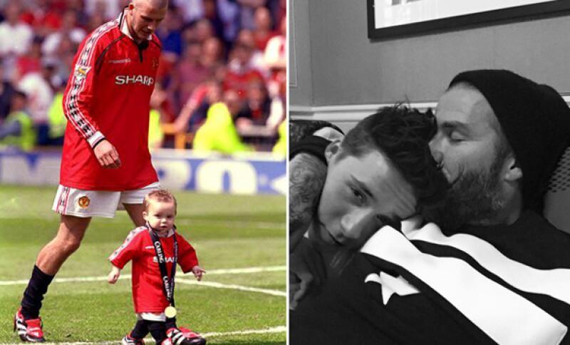 El hijo del ex futbolista cumple 16 años y su orgulloso padre no pudo contener su felicidad al felicitarlo a través de las redes sociales.