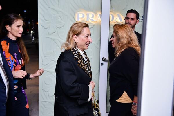 Miami Design District Prada Store Opening, Miami, USA - 05 Dec 2017