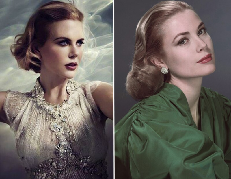 La primera foto promocional de la australiana personificando a Grace de Mónaco se ha hecho pública, qué opinas, ¿se parecen?