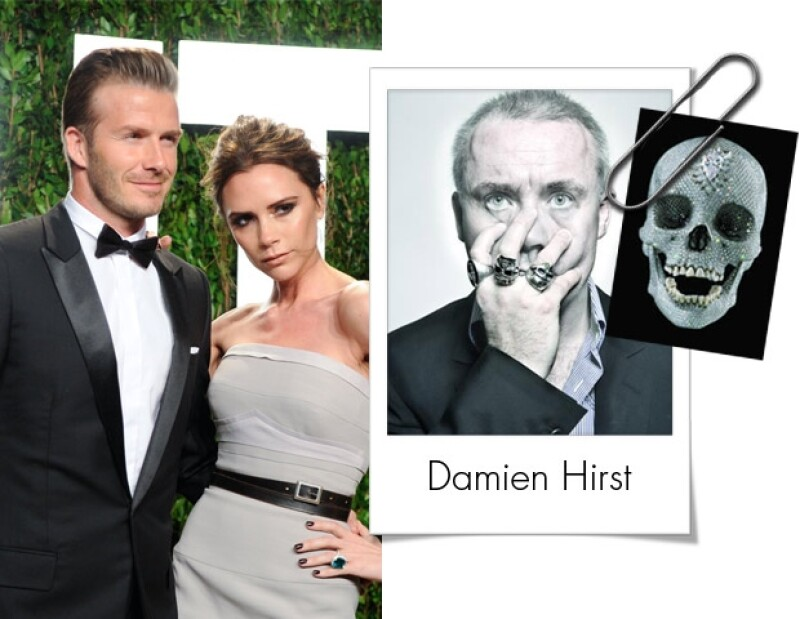 David y Victoria Beckham ha aumentado su gusto por el arte contemporáneo.