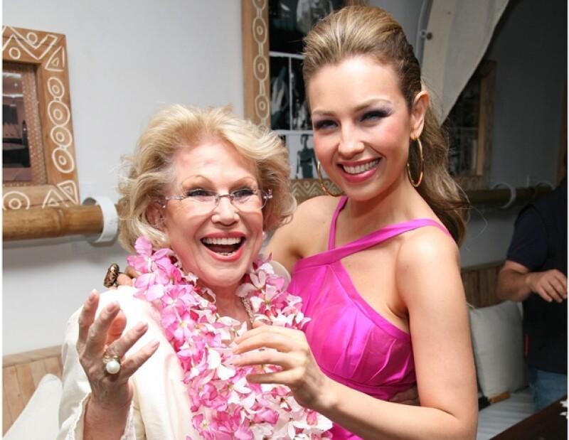 Sin duda la mamá de la cantante Thalía dejó a lo largo de su vida una gran descendencia en donde figuran grandes artistas y personalidades destacadas.