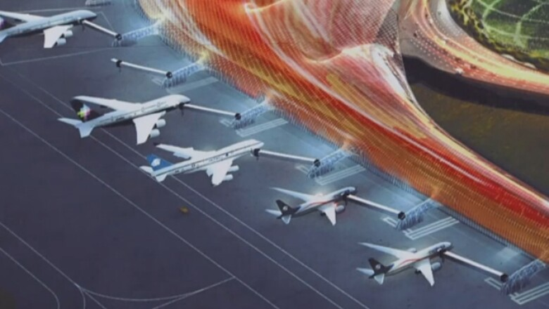 La obra contempla que el aeropuerto tenga una terminal con una capacidad de embarque para los próximos diez años.