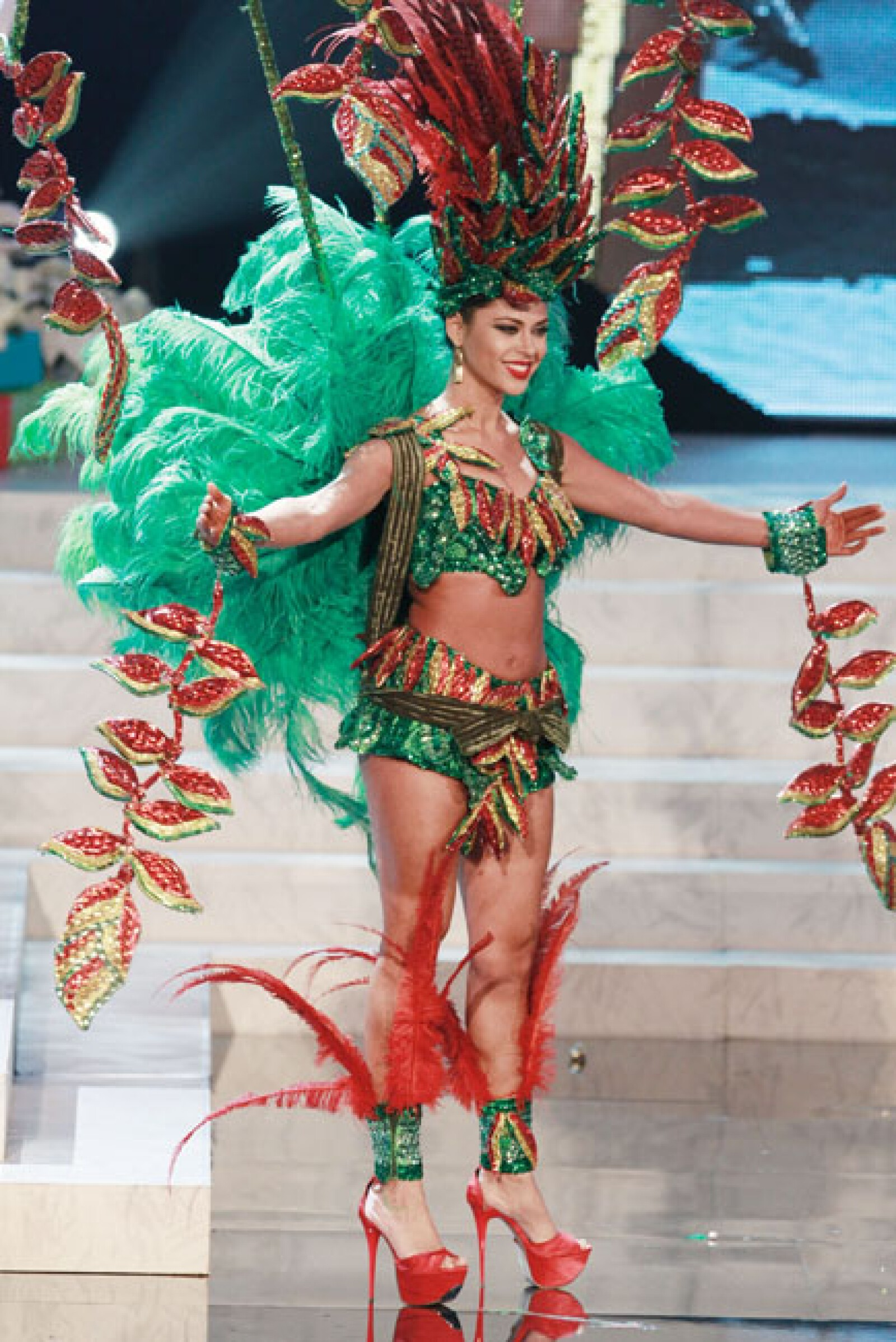 Miss República Dominicana, Dulcita Lynn Lieggi.