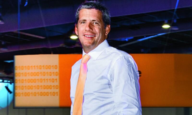 Gonzalo Benedit le ha conseguido a la tecnológica SAP 4,800 clientes en México, de los cuales el 80% son pymes. (Foto: Fernando Montiel Klint)