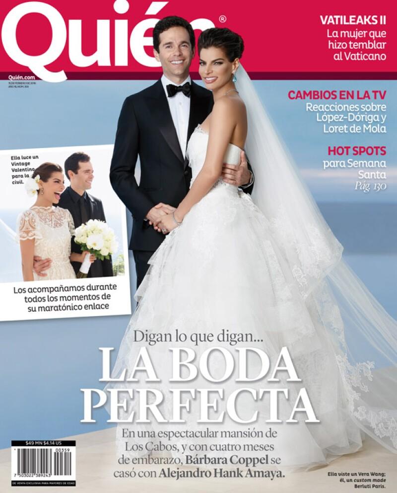 Fotos de los mejores momentos, todos los detalles de los vestidos de Bárbara y la boda civil en exclusiva: en la nueva edición de Quién® te contamos todo sobre la boda más esperada.