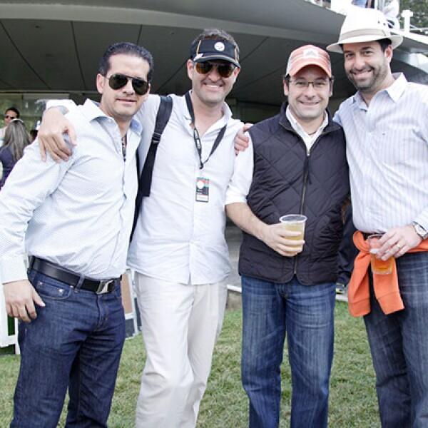 Juan Serrano, Guillermo Robert, Alejandro Bartning y Gerardo Torres