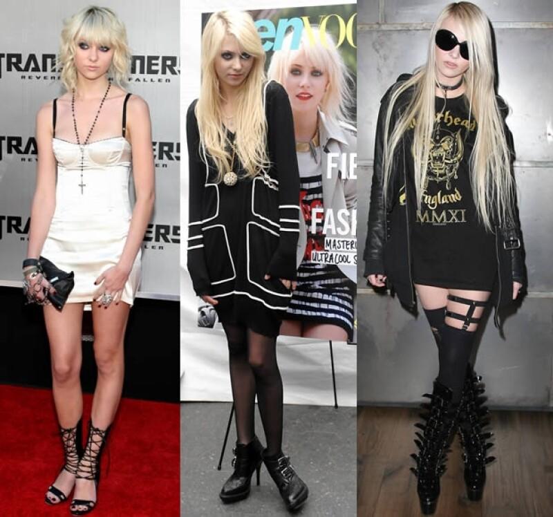Para 2009 Taylor Momsen ya vestía constantemente de negro no importando el evento al que fuera.
