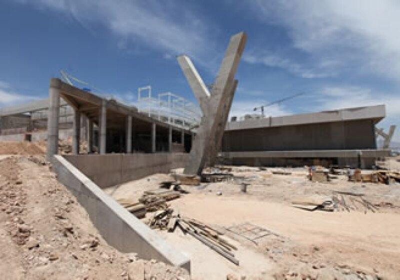 El centro de convenciones tendrá una torre corporativa. (Foto: Gobierno de San Luis Potosí)