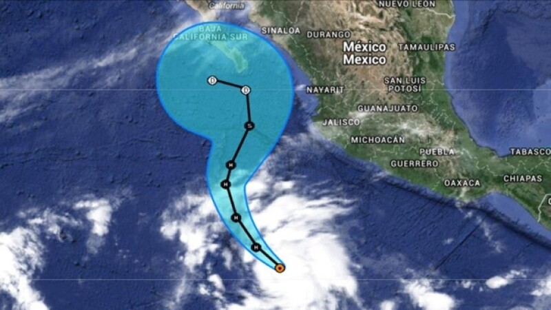 Vance huracán trayectoria