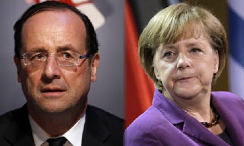 Merkel dijo que los parlamentos de toda Europa están a punto de adoptar el pacto fiscal. (Foto: Especial)