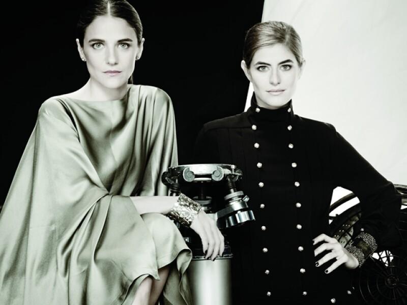 Las hermanas Stephens fotografiadas por Enrique Covarrubias para nuestro Style Issue de 2012.