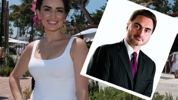 Tomás Ruiz de 48 años es el flamante novio de la actriz veracruzana