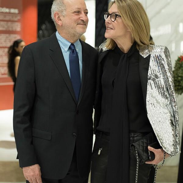 Enrique Norten y Sarah Gore