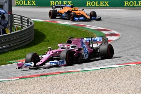 Serio Perez Australia F1