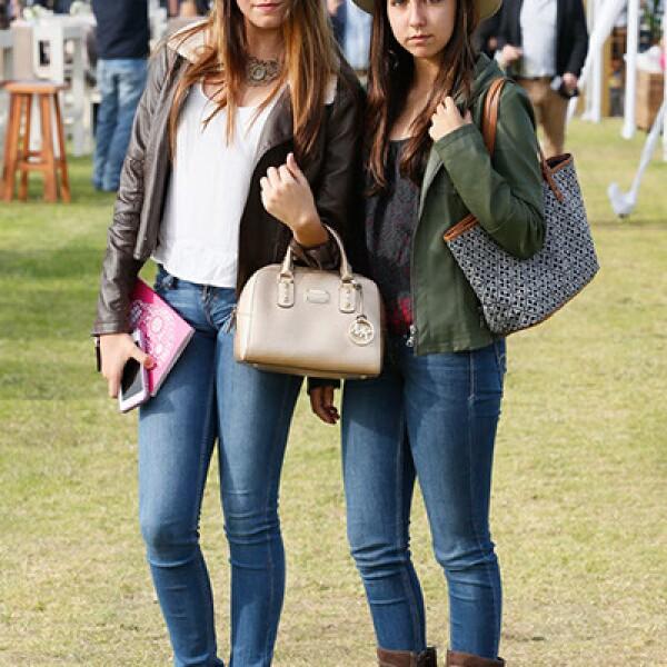 Emilia Morphy y Daniela Martínez