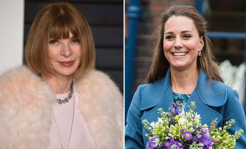 La todopoderosa editora de modas está desesperada por conseguir que la duquesa de Cambridge protagonice el número de septiembre de la revista.