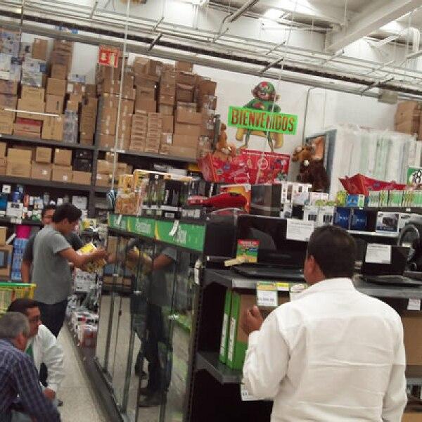 Gerentes de supermercados esperan que la gran afluencia de compradores se dé entre el sábado y el domingo.