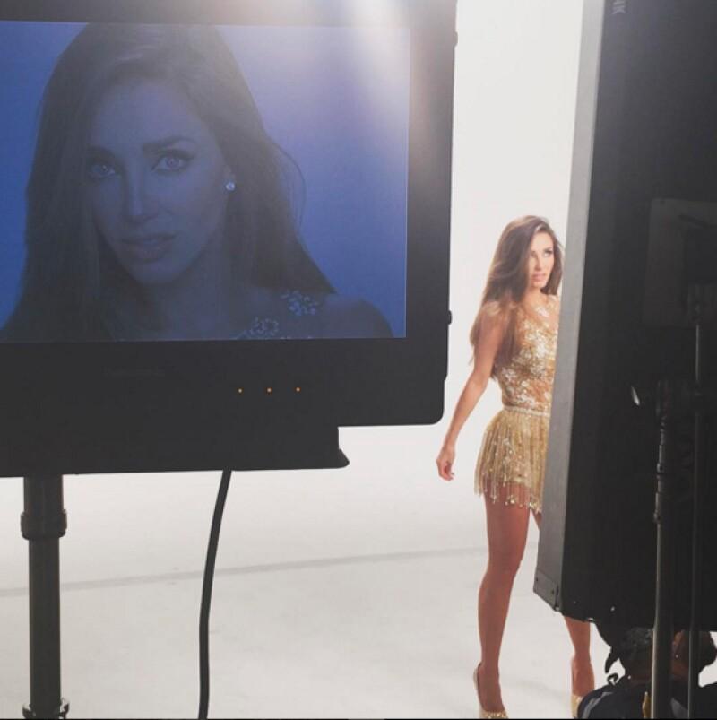 """Tras el éxito obtenido con """"Rumba"""" hace un par de meses, la cantante ha dado algunos indicios en su perfil de Instagram de su próxima canción titulada """"Boomcha""""."""