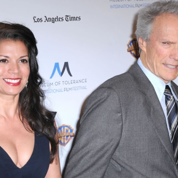 Clint Eastwood y Dina
