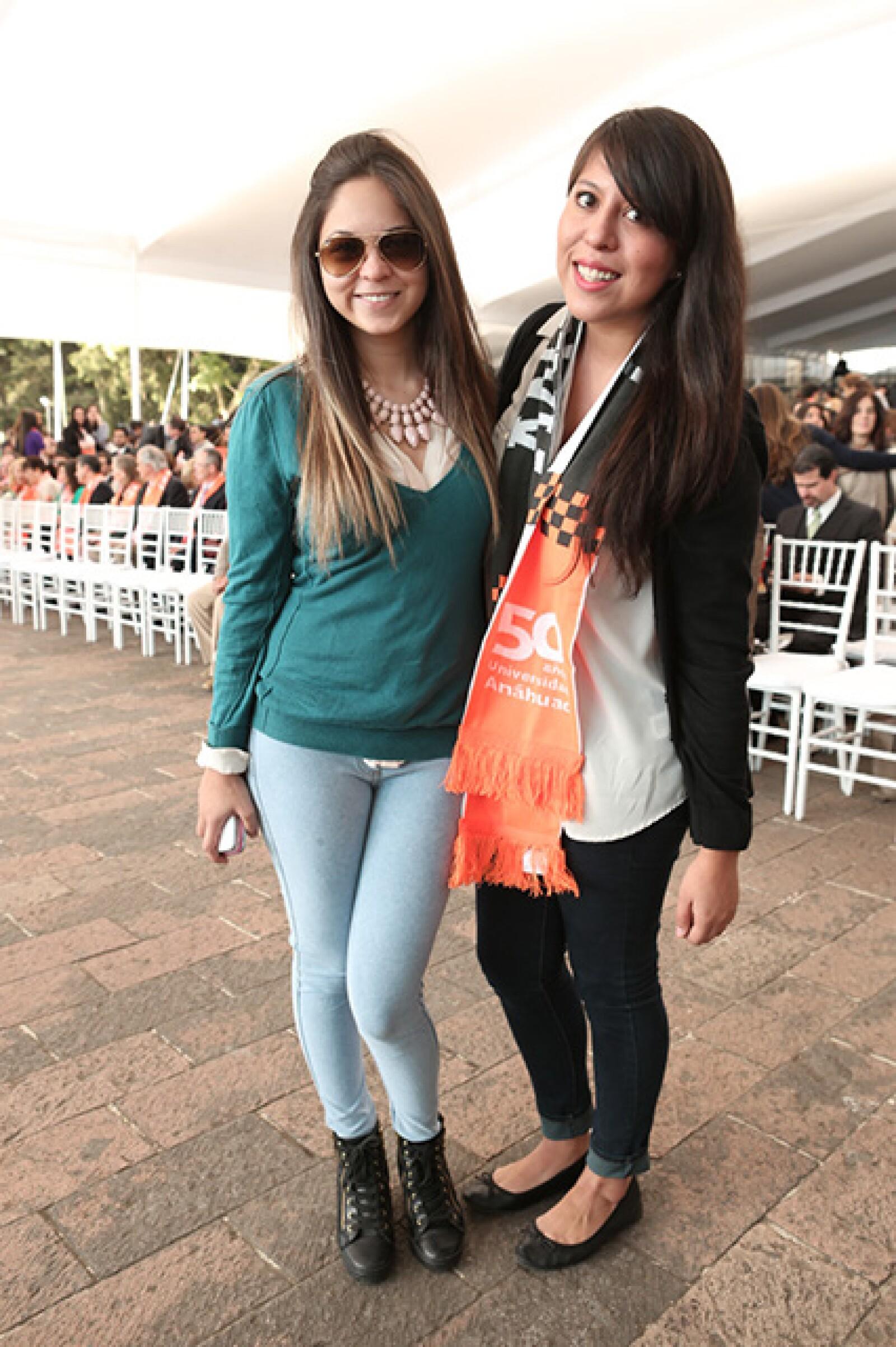 Layne Hiriget y Deborah Peña