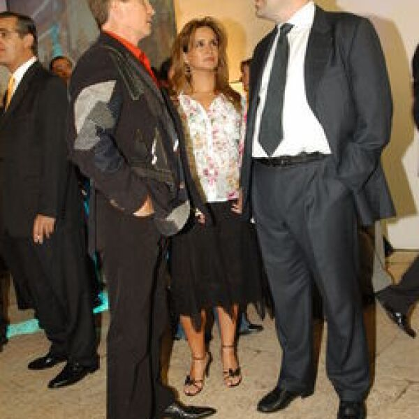 Emanuel Acha, Orquidea Ponce, Mauricio Vasquez