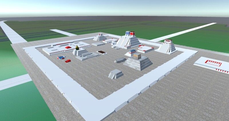 reconstrucción de templo virtual