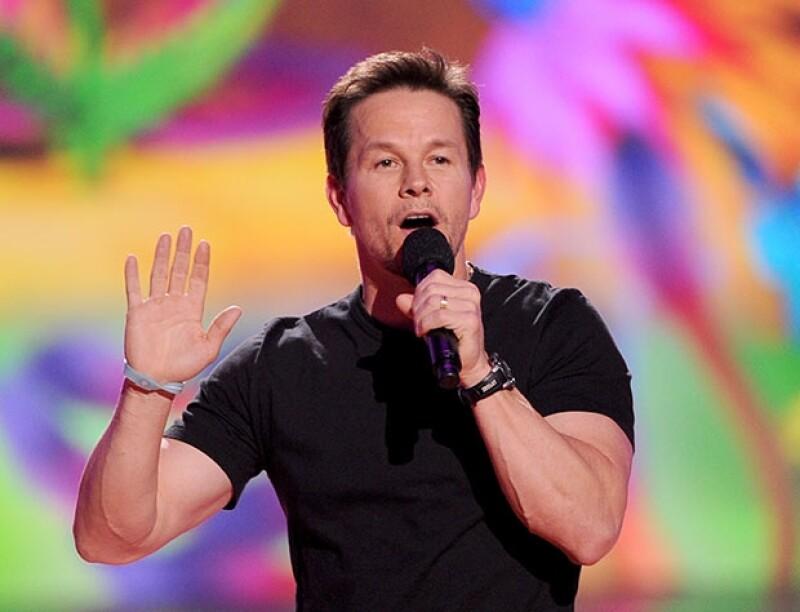 Mark Wahlberg fue el anfitrión de la divertida entrega de premios.