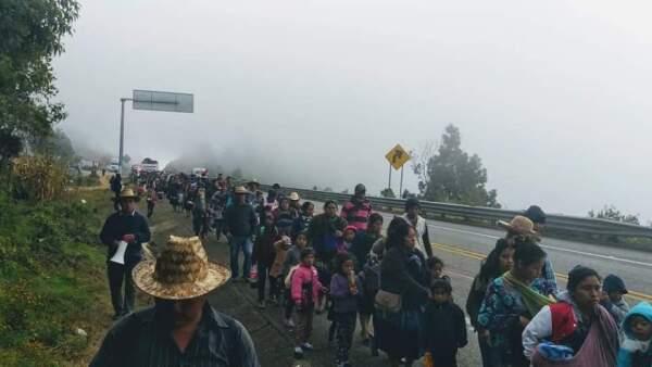 Desplazados Chiapas