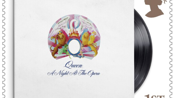 Royal Mail releases a series of stamps in a tribute to Queen