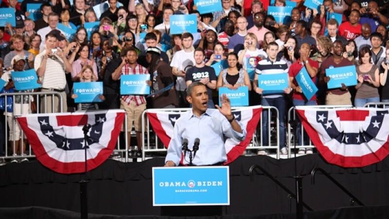 Barack Obama campaña Ohio