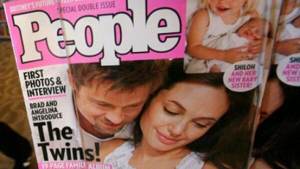 Knox Leon y Vivienne Marcheline, hijos de Angelina Jolie y Brad Pitt.