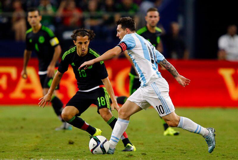 Lista Mundialista México-Messi