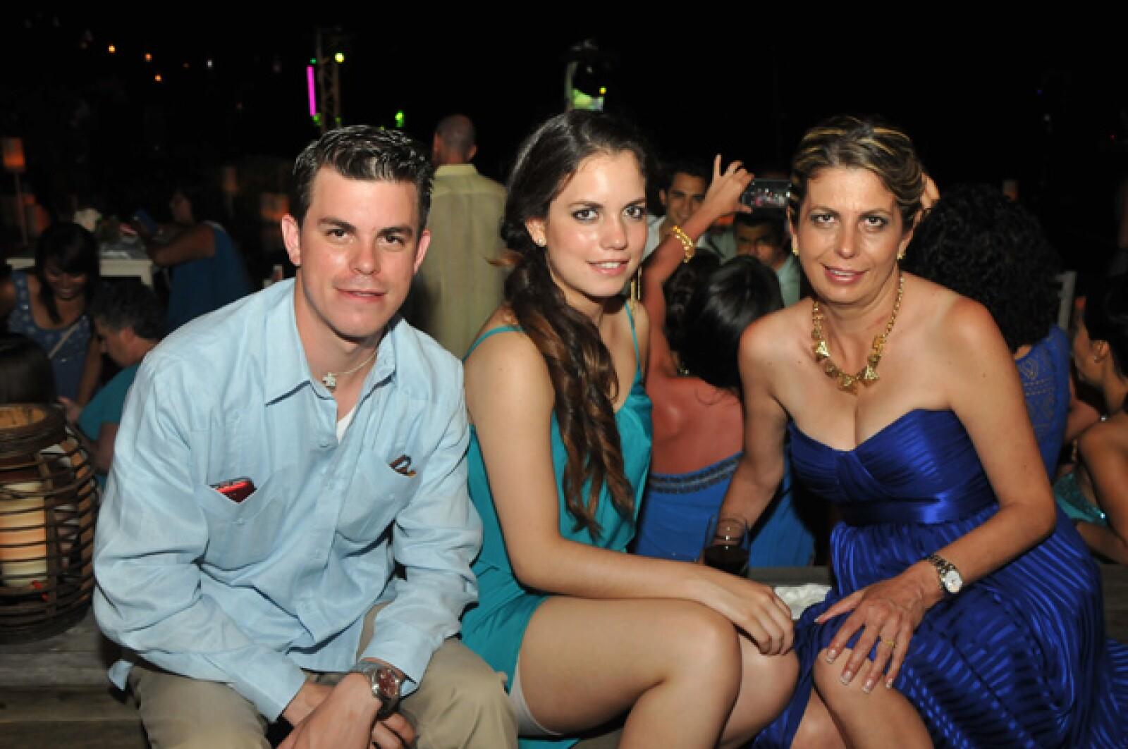 Héctor Gandini, María Gandini, Laura Zamudio.