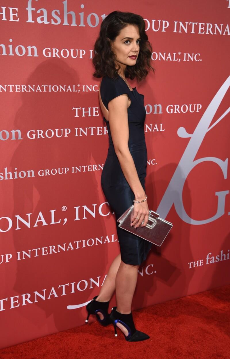 La actriz asistió la noche de ayer a un evento en Nueva York donde llamó la atención por su delgada figura y aspecto demacrado.