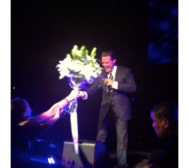 Luis Miguel cerró su presentación con un popurrí de sus mejores éxitos.