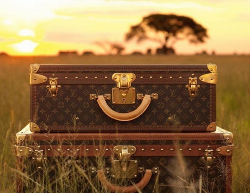 El cantante Luis Miguel posee una gran colección de maletas de la firma francesa.