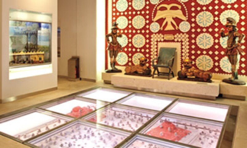El museo destina una sala al poblado que fue el centro ceremonial más antiguo de los mayas. (Foto: Jorge Garaiz)