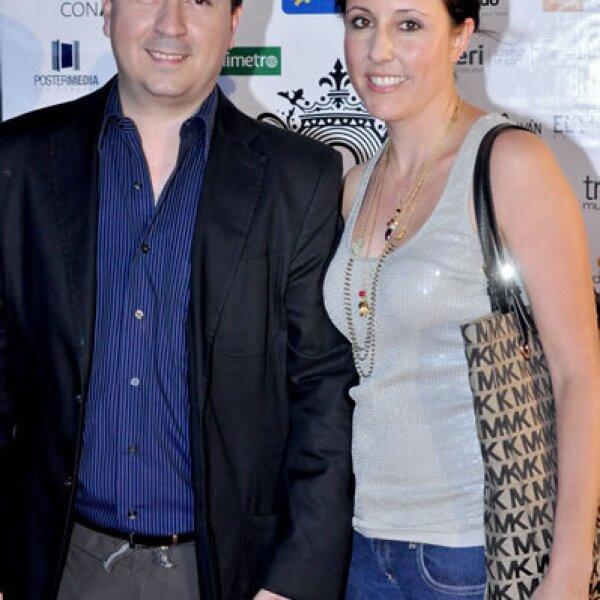 Gabriel Guzmán y Karla Rangel