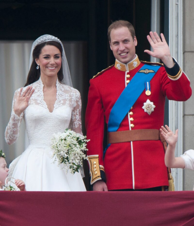 Kate vivió en la vida real un cuento de princesas al convertirse en Duquesa de Cambridge.