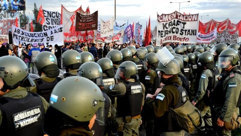 Buenos Aires sindicatos huelga
