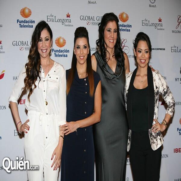 Maria Bravo,Eva Longoria,Alicia Lebrija,Alina Peralta