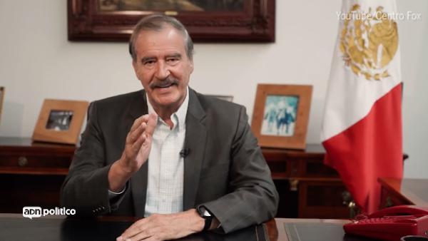 """""""Se terminó el tiempo de prometer"""", dice Vicente Fox a López Obrador"""